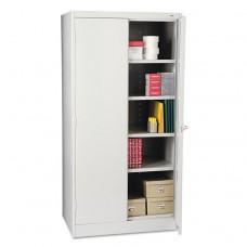 """72"""" High Standard Cabinet, 36w X 24d X 72h, Light Gray"""