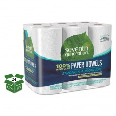 100% Recycled Paper Towel Rolls, 2-Ply, 11 X 5.4 Sheets, 140 Sheets/rl, 24 Rl/ct
