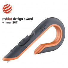 Box Cutters, Double Sided, Replaceable, Carbon Steel, Gray, Orange