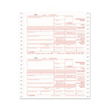 1099-Misc Tax Forms, 4-Part Carbonless, 5 1/2 X 8, 24 1099s & 1 1096