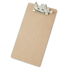 """Arch Clipboard, 2"""" Capacity, Holds 8 1/2""""w X 14""""h, Brown"""