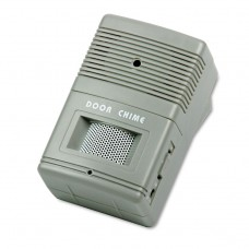 Visitor Arrival/departure Chime, Battery Operated, 2-3/4w X 2d X 4-1/4h, Gray