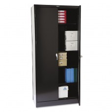 """78"""" High Deluxe Cabinet, 36w X 18d X 78h, Black"""