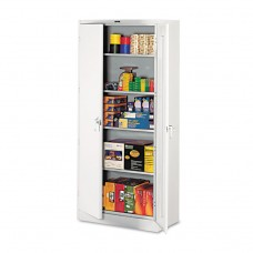 """78"""" High Deluxe Cabinet, 36w X 18d X 78h, Light Gray"""