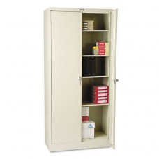 """78"""" High Deluxe Cabinet, 36w X 18d X 78h, Putty"""